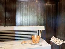 Talon sauna.