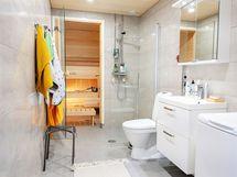 Näkymä wc/sauna