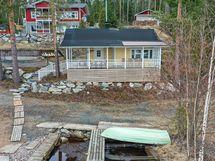 Rantasauna peruskorjattu/uudelleen rakennettu 2015