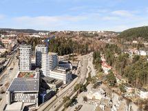 Näistä kaupunkikodeista on upeat näkymät eri puolille kaupunkia.