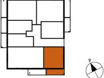 Asunnon B61 sijainti kerroksessa