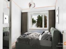 Digistailattu makuuhuone 1