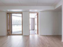 Valokuva asunnon C55 olohuoneesta