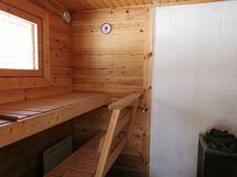 Mökki 5 sauna