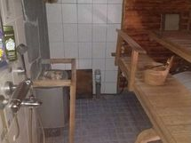 Sauna, suihku, vesipumppu ja lämminvesivaraaja