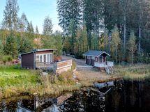 Mökki ja sauna