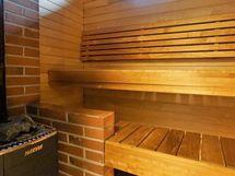 Täysin käyttämätön puulämmitteinen sauna