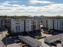 Valokuva asunnon parvekkeelta A43