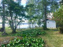 Rannassa sauna