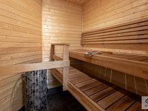 Tilava sauna löylyhetkiin