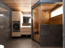Sauna+kylpyhuone