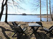 pihaa, järvinäkymää