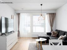 Asunto on ihanan valoisa.