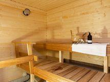 Sauna remontoitu vuonna 2019