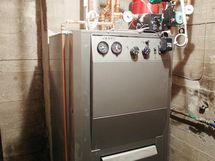 Vanhan puolen uusittu lämmityskattila