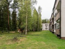 Tilaa ja vihreää luontoa ympärillä