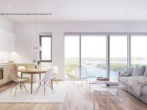 Taiteilijan näkemys Scandinavia-sisustustyylistä asunnossa 172