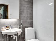 Kylpyhuone/wc remontoitu 2021