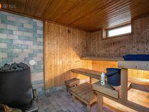Saunatilat ovat kellarikerroksessa