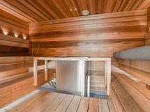 kerhohuoneen sauna