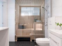 Visualisointi asunnon kylpyhuoneesta