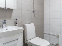 Erillinen WC juuri remontoitu