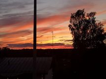Auringonlaskua