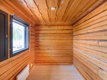 Pienmmän asunnon makuuhuone