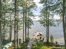 parven parvekkeelta upeet näkymät järvelle