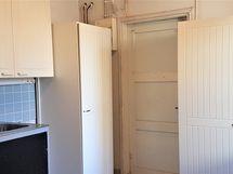 Kellaritilaa (keittiö/pyykkitila ym.)