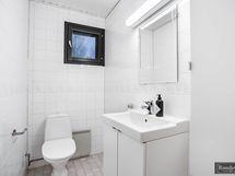 Vaaleasävyinen wc