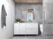 Pesuhuone A4, sisustusmaailma OPAALI