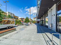 Sisäänkäynti kävelykadulle / Entrance at promenade