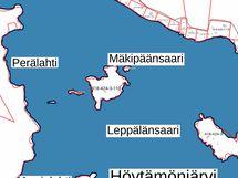Mäkipäänsaari = tilan nimi Lammassaari