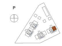 Asunnon D15 sijainti kerroksessa