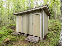 Vanha varasto toimii nykyään puuliiterinä