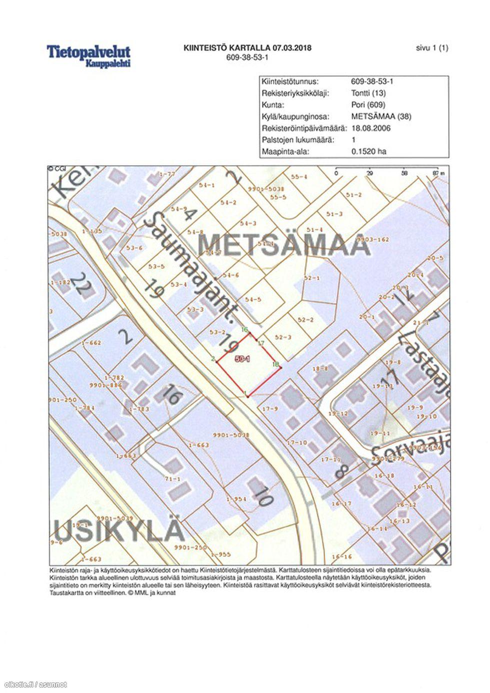 1 520 m² Metsämaa cfbf5863d7