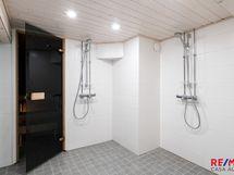 Taloyhtiön sauna ja pesuhuone