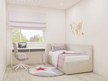 virtuaalikuva makuuhuoneesta
