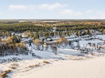 Talvella Tuusulanjärveltä päin