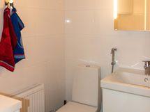 Pesuhuone on juuri remontoitu
