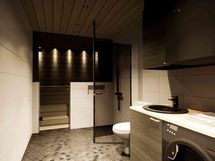 Sauna / kylpyhuone (havainnekuva)