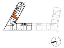 Asunnon C62 sijainti kerroksessa
