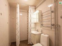 Kylpyhuone on saneerattu 2012