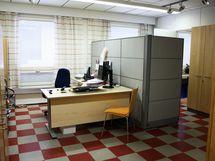 Laajennusosa työhuone