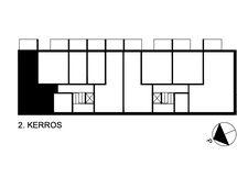 Asunnon sijainti kerroksessa