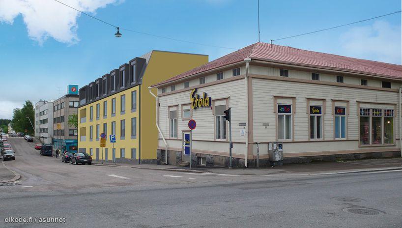 Linnankoskenkatu Porvoo