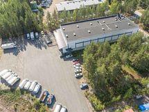 tuotantotila puulaakintie 8 palokangas jyvaskyla Sagax ilmakuva3
