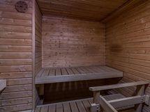 taloyhtiön sauna vapaasti käytettävissä