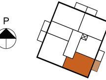 Asunnon 9 sijainti kerroksessa